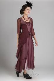 easy diy edwardian titanic costumes 1910 1915 great gatsby party dress in garnet by nataya