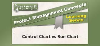 Control Chart Vs Run Chart Pmp Exam Concepts