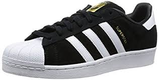 adidas shoes superstar black and white. adidas men\u0027s superstar suede trainers shoes black and white !
