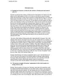 of evil essay problem of evil essay