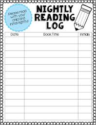 First Grade Reading Log Adventures Of First Grade Reading Logs