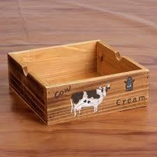 Decorative Wood Boxes With Lids Wood Storage Boxes Makeup Drawer Organizer Desktop Storage Box 94