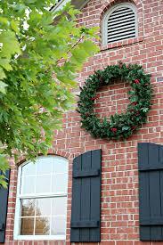 exterior window wreaths design fall outdoor
