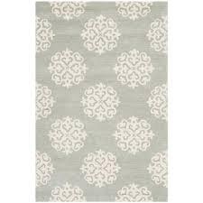 safavieh soho grey ivory 4 ft x 6 ft area rug