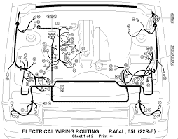 electrical wiring routing diagram 88 toyota pickup 22r wiring toyota 22re wiring diagram wiring diagram world electrical wiring routing diagram 88 toyota pickup 22r