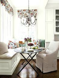 nook tables for kitchen complement a round kitchen table with a chandelier kitchen nook table plans