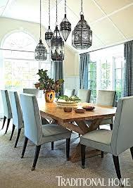 rectangular dining room pendant lights lighting chandelier modern rectangle table