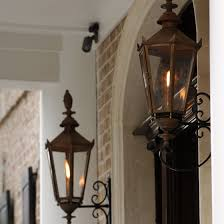 english manor electric lantern copper outdoor lighting home intended for gas lamps outdoor lighting