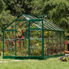 this is a mid size traditionally styled greenhouse which is constructed out of durable long lasting aluminium complete with toughened glass panels