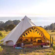 5m sandstone star bell tent