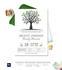 free reunion invitation templates family reunion invitation templates invitations free printable