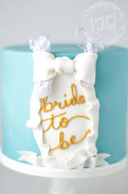 How To Make A Simple Bridal Shower Cake