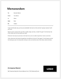 Memo Sample Templates Business Memo Templates For Ms Word Word Excel Templates