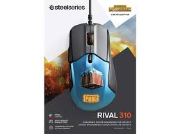 <b>SteelSeries Rival 310 PUBG</b> Edition Gaming Mouse - 12,000 CPI ...