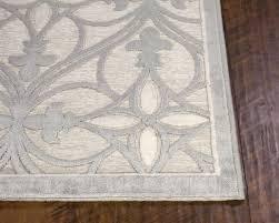 unsurpassed fleur de lis rugs anna lg area kas ivory victorian style cowhide rug