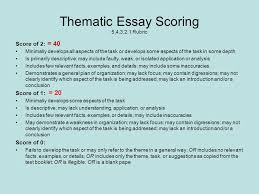 thematic essay msthompson s history class political thematic essay rubric lesson plan grade 8 the jungle