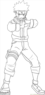 Naruto Color Pages Free Coloring Pages