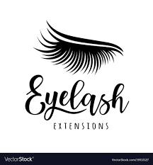 Eyelash Graphic Design Eyelash Extension Logo