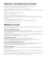 Resume It Summary Statement Examples Example Badak Marketing