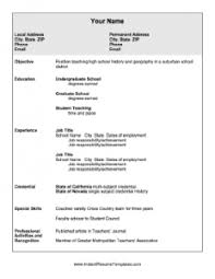Download Instant Resume Templates