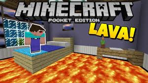 the floor is lava challenge mcpe 1 1 5 minecraft pe pocket edition parkour minigame map