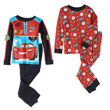 Lighting Mcqueen Pajamas Amazon Com Pixar Cars Lightning Mcqueen Toddler Little Boys