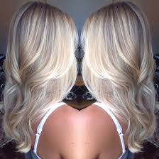 Blonde Hair Style platinum blonde balayage hair style perfect for long or short hair 5065 by wearticles.com