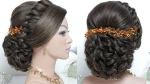 bridal hairstyle for long hair tutorial wedding updo step by step Wedding Hairstyles Step By Step bridal hairstyle for long hair tutorial wedding updo step by step fancy hairstyles step by step for wedding