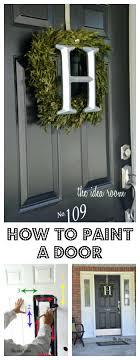 How To Paint A Steel Exterior Door Front Door Paint Is Peeling How ...