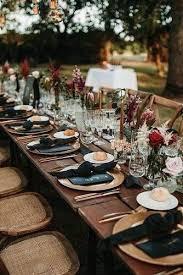 Round Table Settings For Weddings Wedding Table Settings
