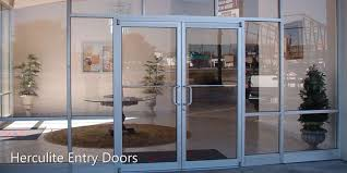 herculite entry doors glass and