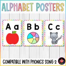 The abc song, also referred to as the alphabet song was published in 1835. Phonics Song 2 Worksheets Teachers Pay Teachers