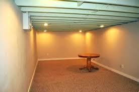 lighting for basement ceiling. Basement Ceiling Lighting Ideas Fine Lights For Interior
