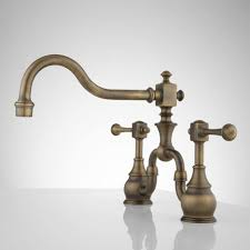 Bathroom Faucet : Awesome Antique Brass Bathroom Faucets Style ...