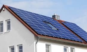Солнечных батарей на крыше