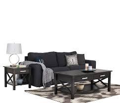United Furniture Warehouse Kitchener Amazoncom Simpli Home Kitchener Coffee Table Dark Walnut Brown
