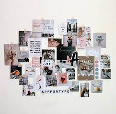 how to make a diy collage wall kit