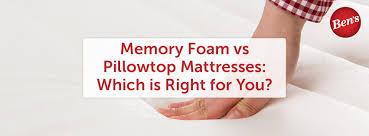 memory foam vs pillow top. Wonderful Pillow Memory Foam Vs Pillowtop Throughout Memory Foam Vs Pillow Top O