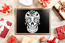 Feel free to download our free svg files for cricut and silhouette craft projects. Sugar Skull Funny Halloween White Graphic By Zemira Creative Fabrica