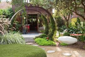 ... Peaceful Inspiration Ideas Circular Garden Designs 5 Beautiful Semi  Archesjpg On Home ...