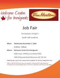 Tim Hortons Resume Job Description tim hortons flyer tim hortons application for employment 7