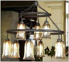 mercury glass chandelier pottery barn antique mercury glass chandelier light rasped iron finish round mercury glass