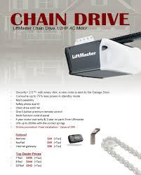 veteran garage doorChain Drive Opener Liftmaster
