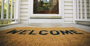 open door welcome mat. Perfect Open Front Door Welcome With Mat D