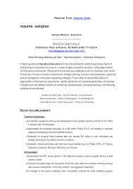 resume samples free  free sample resume templates examples  sample    resume samples free