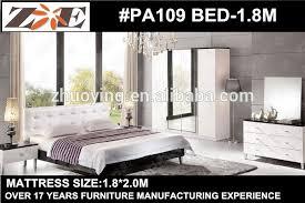White Leather Bedroom Furniture | Odelia Design