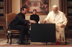 Watch Marilyn Manson's Cameo on 'The New Pope'