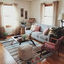 bohemian style living room. Perfect Room Vintage Boho Style Living Room With Light Neutral Walls And Pops Of Color And Bohemian Style Living Room