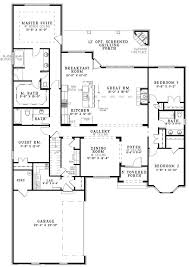 The House Designers Home Plans Open One Story House Plans The House Designers Design