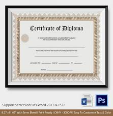 diploma certificate template word pdf psd eps in  diploma certificate template 25 word pdf psd eps in diploma template